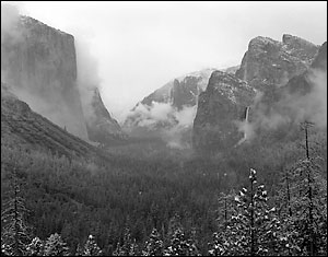 Clearing Snowstorm, Yosemite Valley